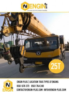 location-grue-xcmg-25t